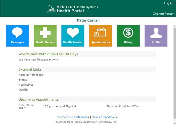 Door County Medical Center - Patient Portal