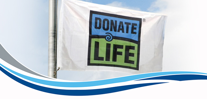 Door County Medical Center Hosts Donate Life Wisconsin Flag-Raising Ceremony and Moment of Silence
