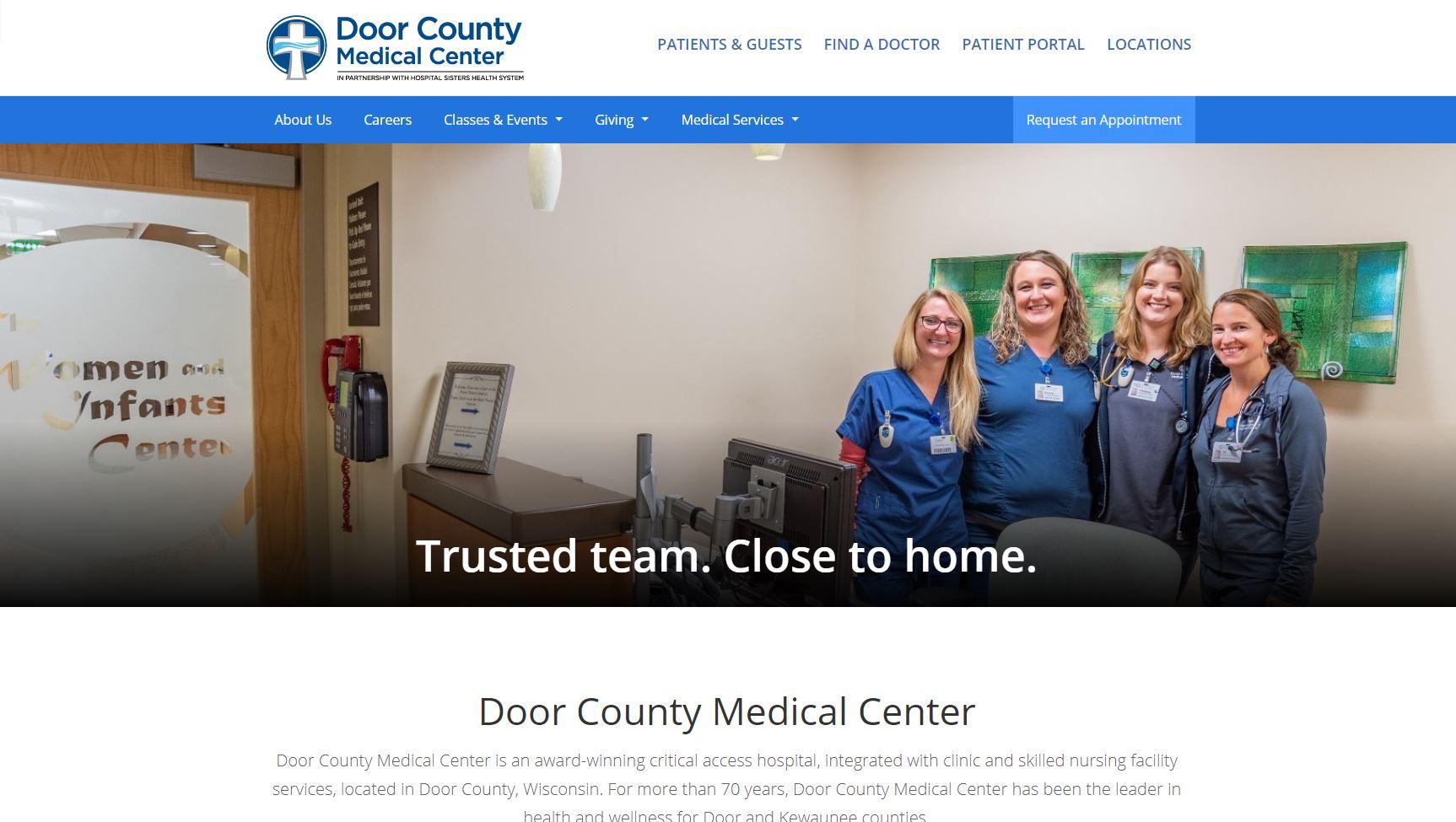 Door County Medical Center - Home