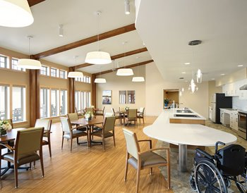 Door County Medical Center Skilled Nursing Facility Dining Room